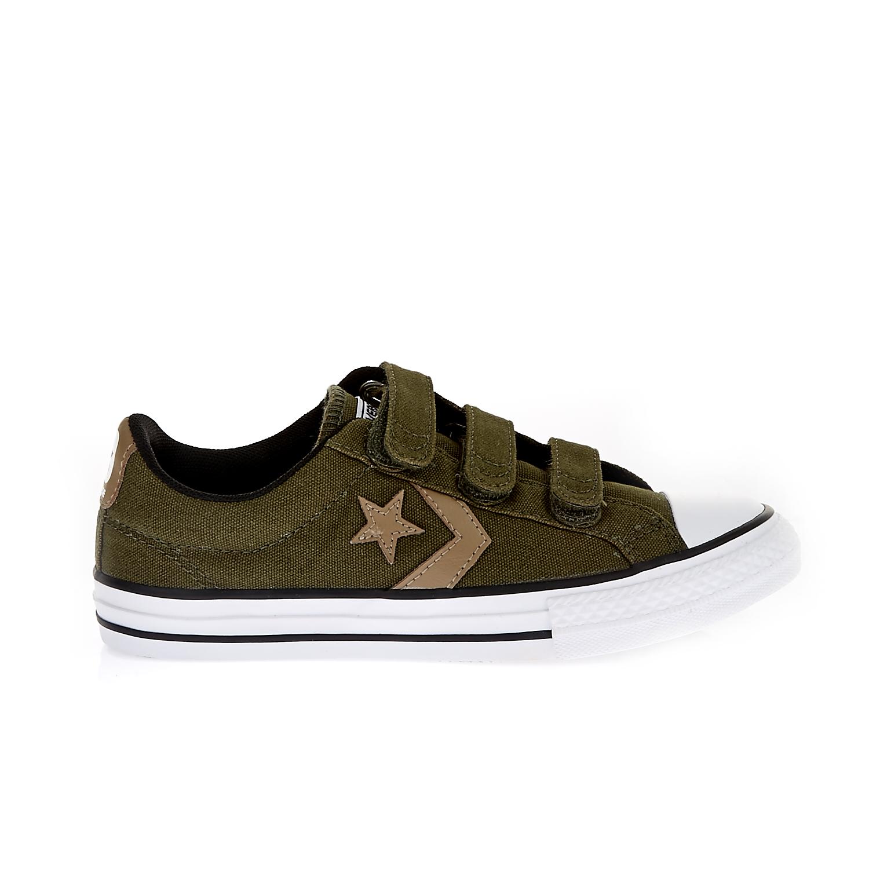 CONVERSE – Παιδικά παπούτσια Star Player EV 3V Ox λαδί