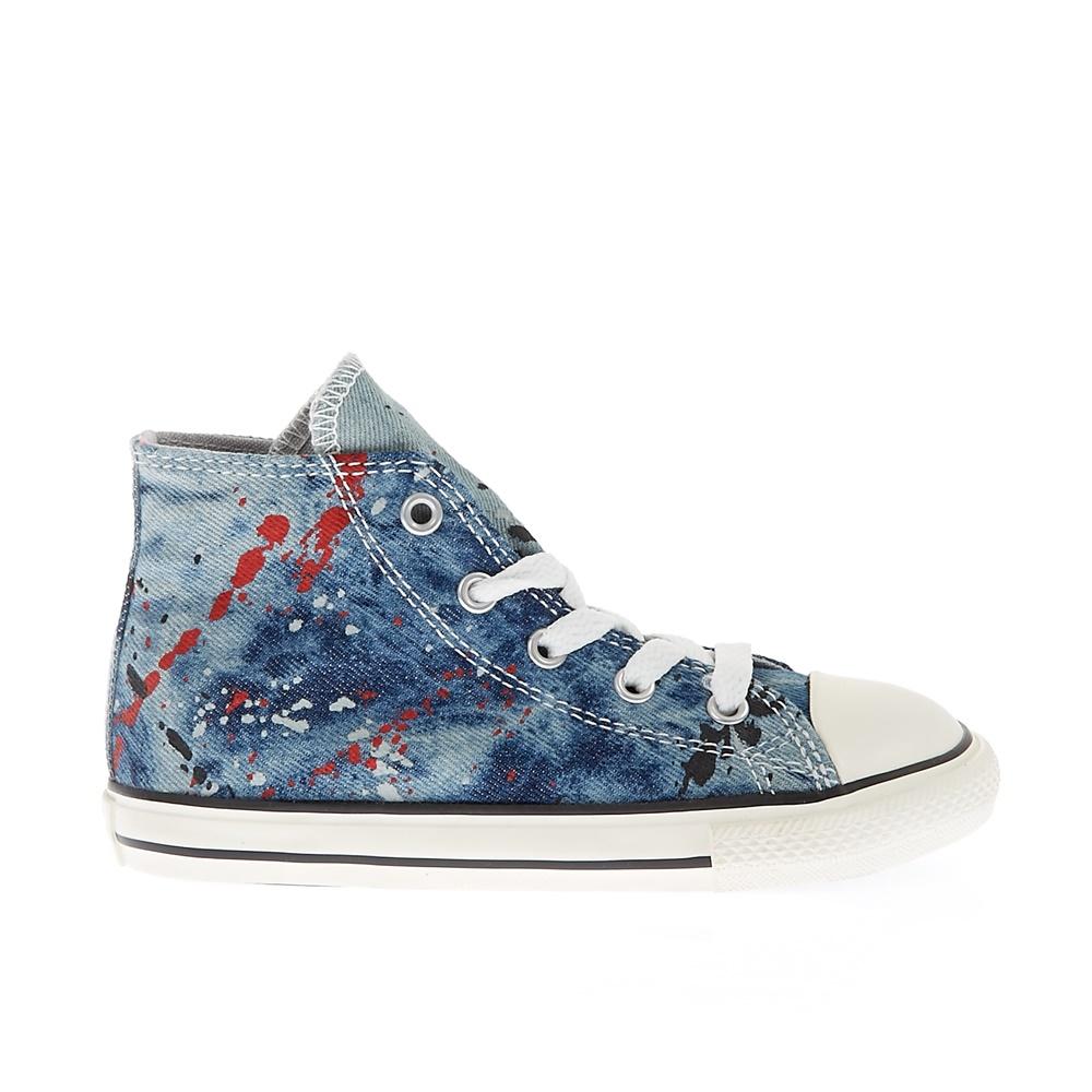 CONVERSE – Βρεφικά παπούτσια Chuck Taylor All Star Hi μπλε