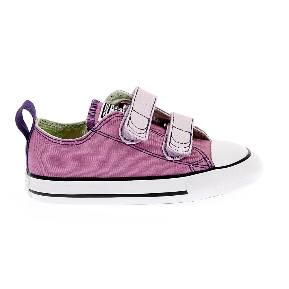 a4b30b3960b CONVERSE - Βρεφικά παπούτσια Chuck Taylor All Star 2V Ox μωβ