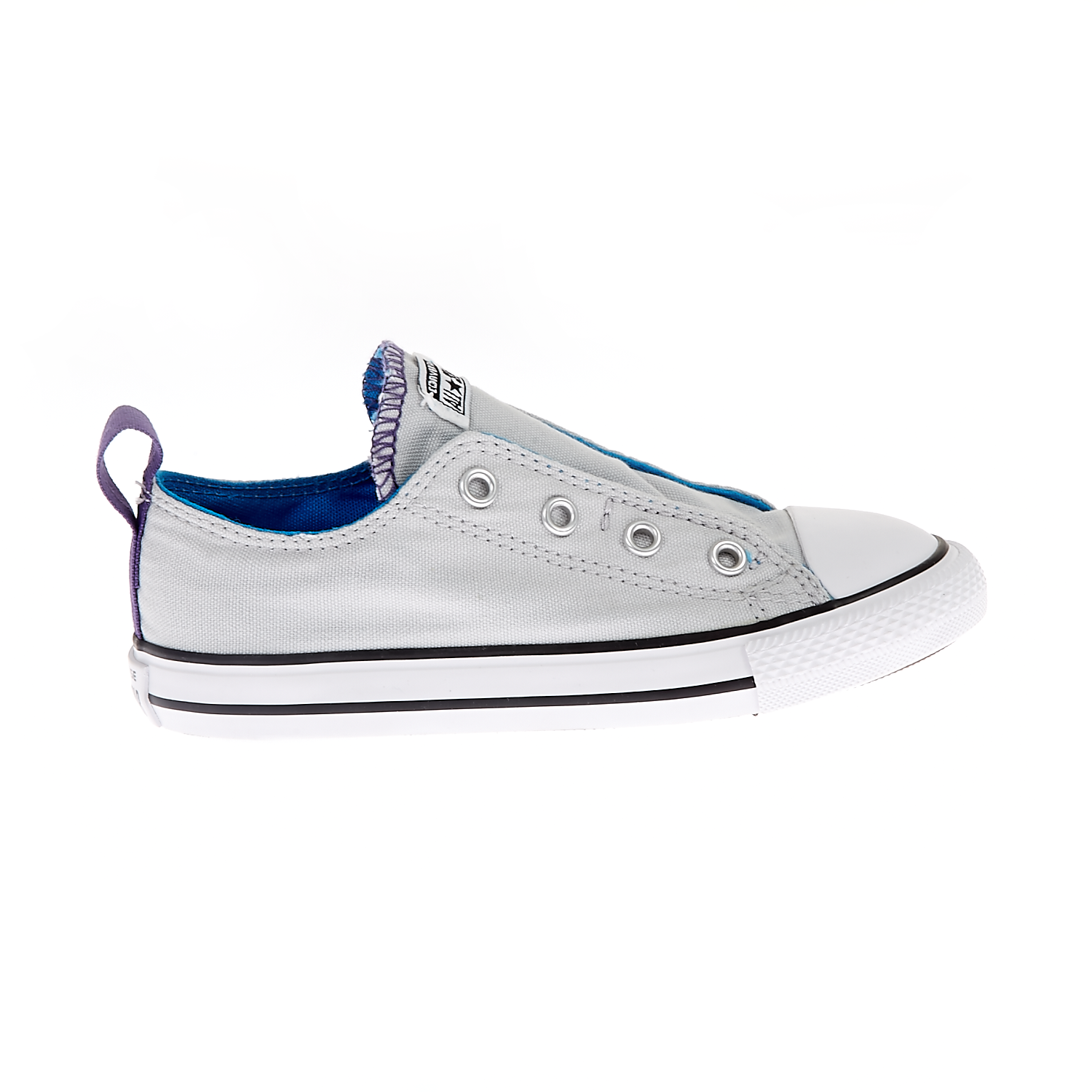 CONVERSE – Βρεφικά παπούστια Chuck Taylor All Star Simple S γκρι