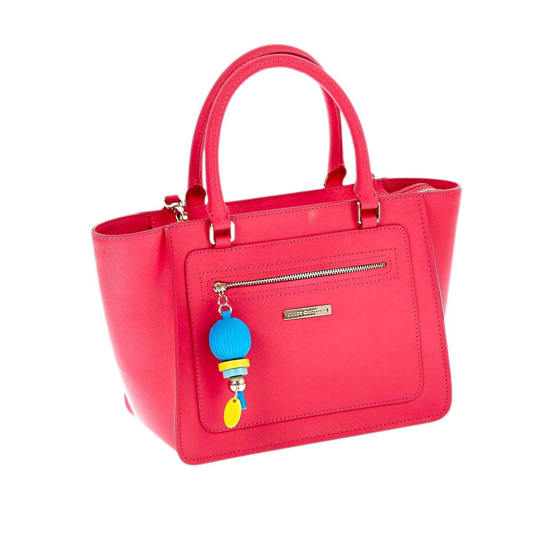 JUICY COUTURE – Γυναικεία τσάντα Juicy Couture φούξια 1441261.0-004H