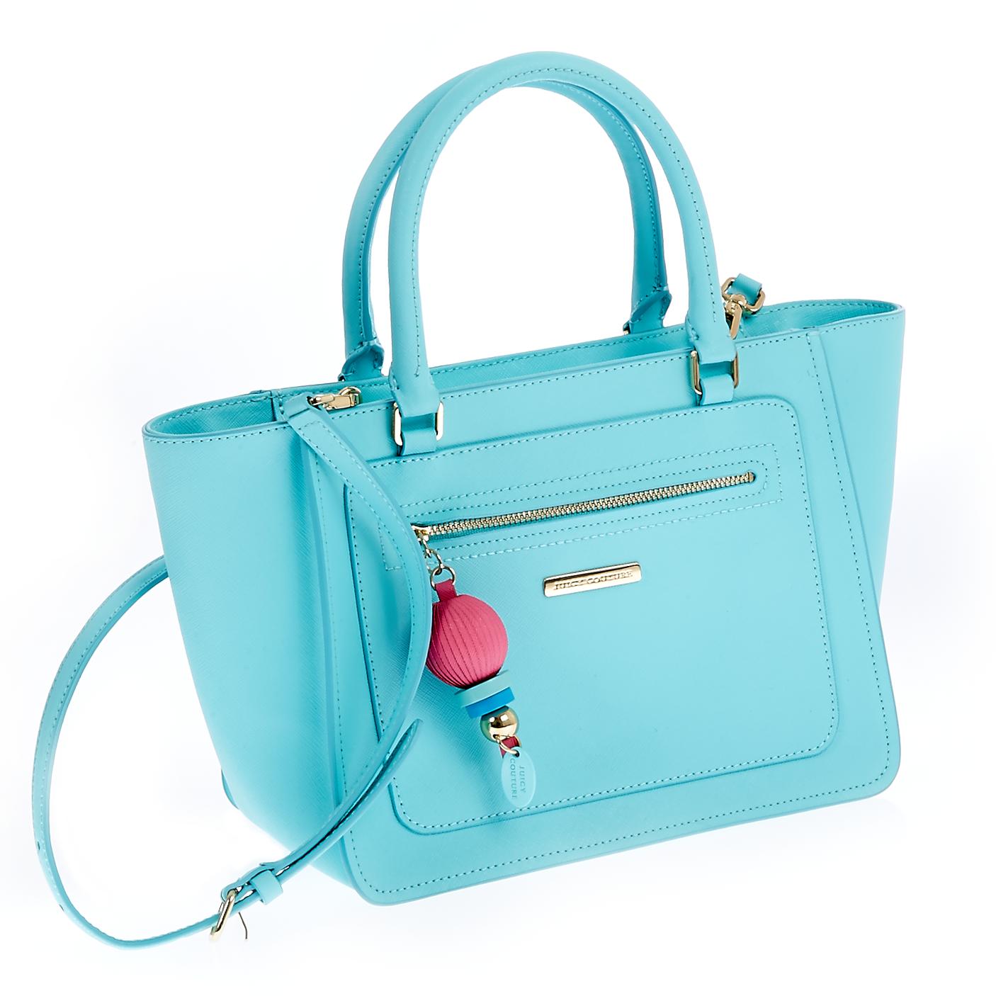 JUICY COUTURE – Γυναικεία τσάντα Juicy Couture μπλε 1441261.0-00T2