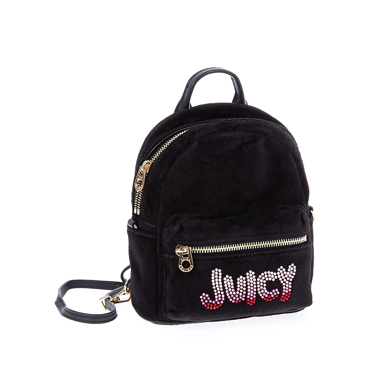 JUICY COUTURE – Γυναικεία τσάντα πλάτης Juicy Couture μαύρη 1441290.0-0071