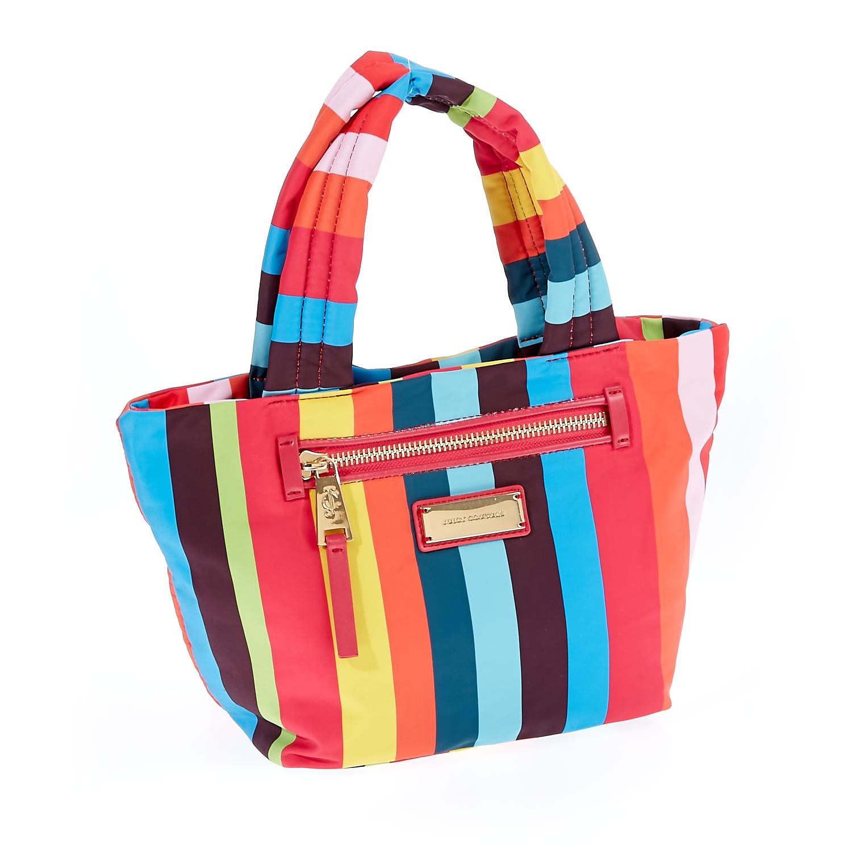 JUICY COUTURE – Γυναικεία τσάντα Juicy Couture κόκκινο-κίτρινο-μπλε 1441301.0-0000
