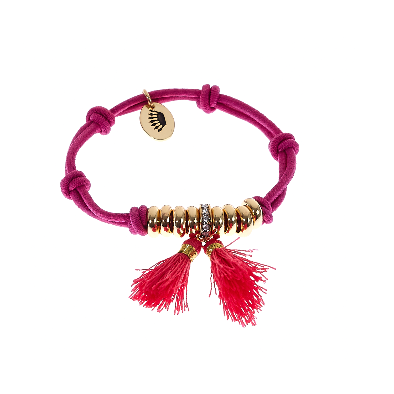 JUICY COUTURE - Λαστιχάκι για τα μαλλιά Multi Charm Knotted γυναικεία αξεσουάρ αξεσουάρ μαλλιών