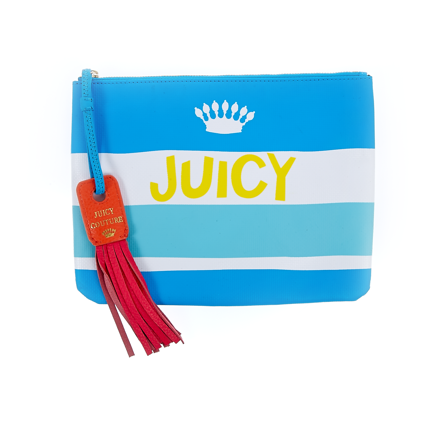 JUICY COUTURE – Πορτοφόλι-τσαντάκι Juicy Couture μπλε-λευκό 1441468.0-00T1
