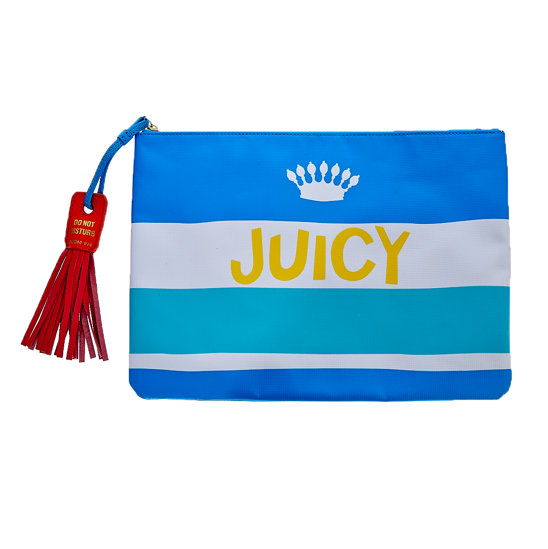 JUICY COUTURE – Πορτοφόλι-τσαντάκι Juicy Couture μπλε 1441469.0-00T1