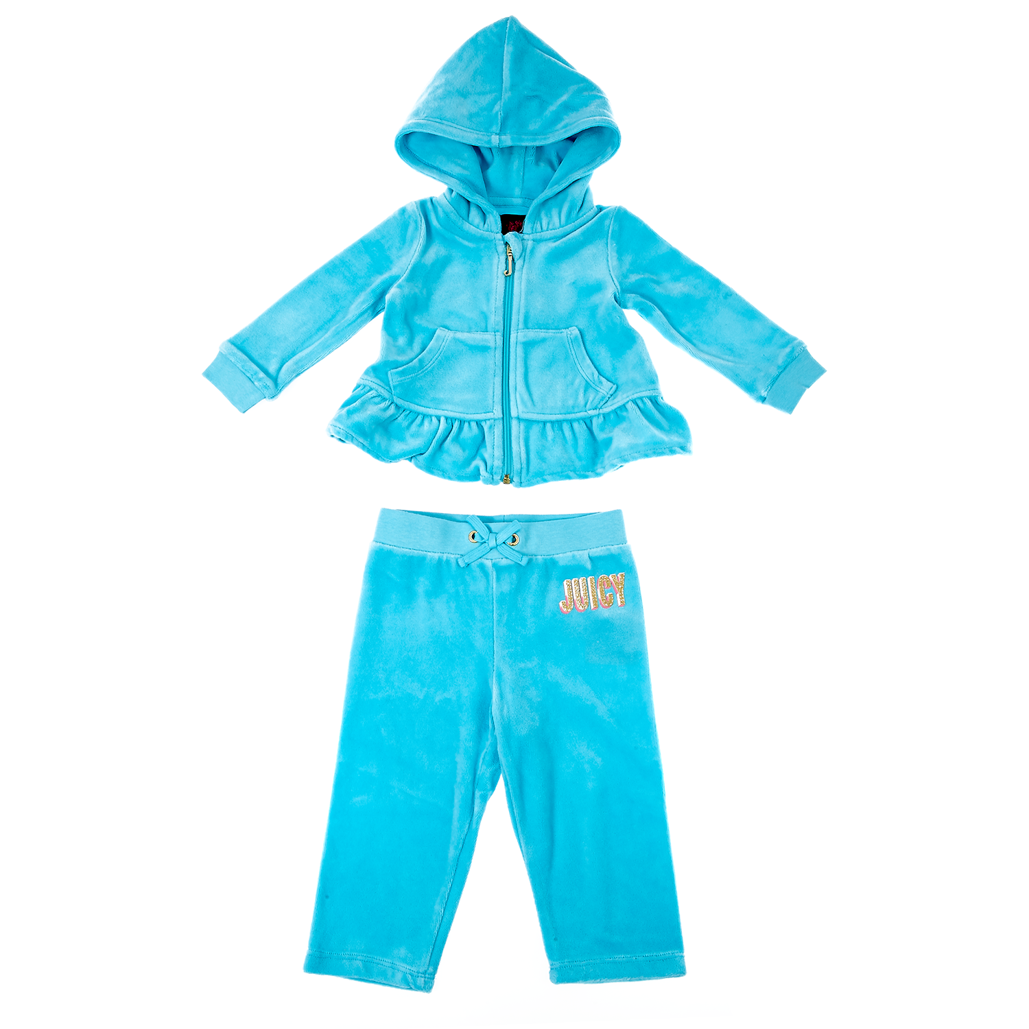 6a963f977948 JUICY COUTURE KIDS - Βρεφικό σετ Juicy Couture μπλε