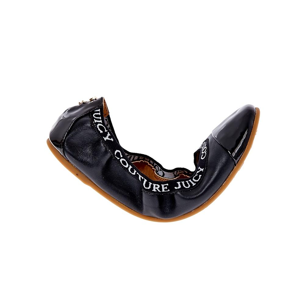 JUICY COUTURE – Γυναικείες μπαλαρίνες Juicy Couture μαύρες