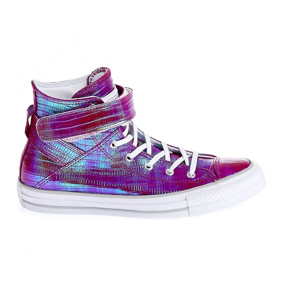 CONVERSE – Γυναικεία παπούτσια CT ASBREA REPTILE IRIDESCENT μωβ