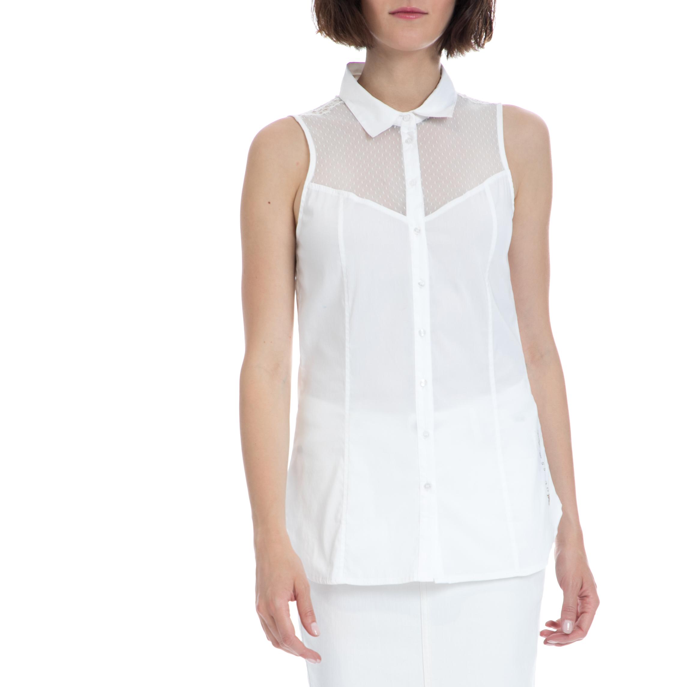 GUESS – Γυναικείο πουκάμισο Guess λευκό