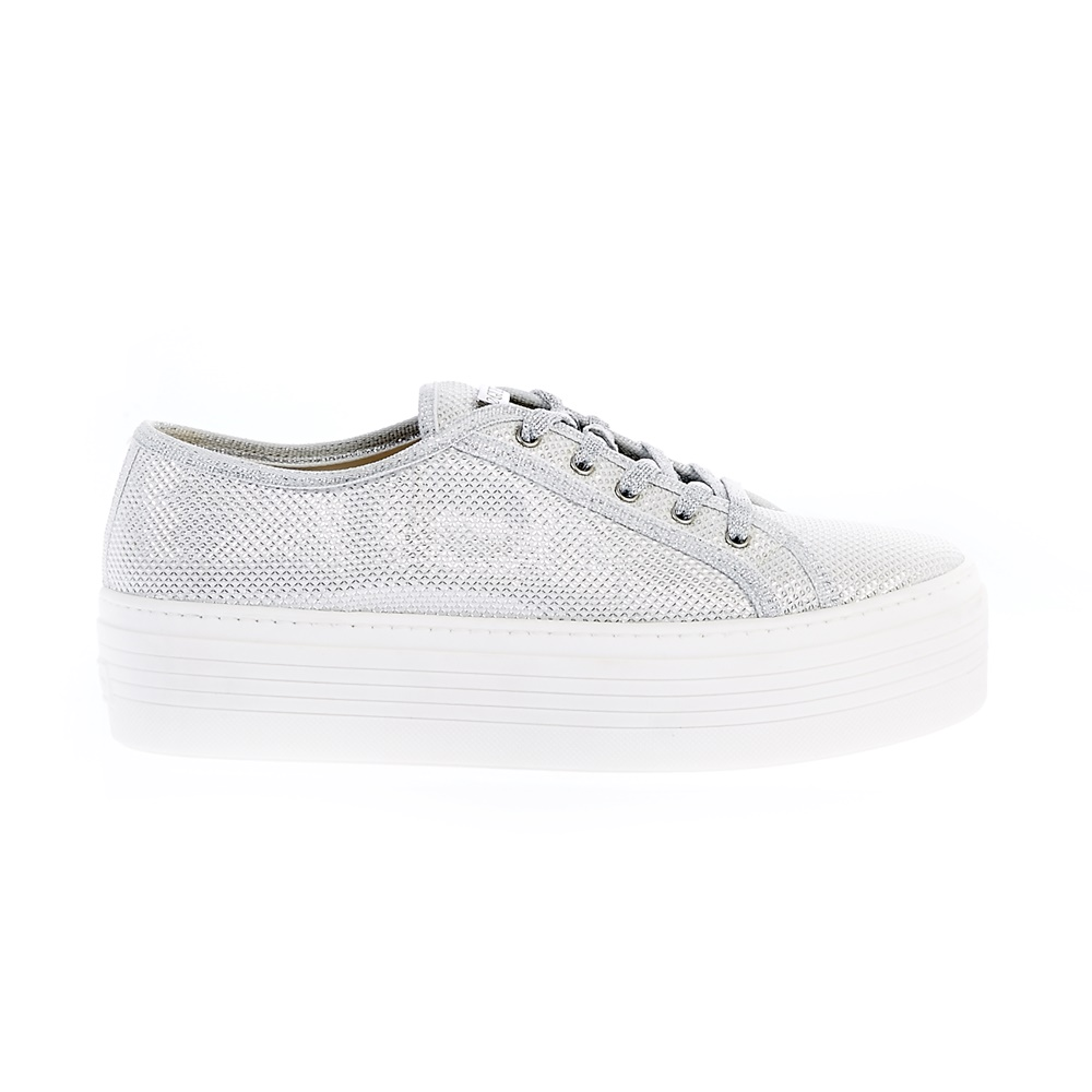 GUESS - Γυναικεία παπούτσια Guess γκρι γυναικεία παπούτσια μοκασίνια μπαλαρίνες μοκασίνια