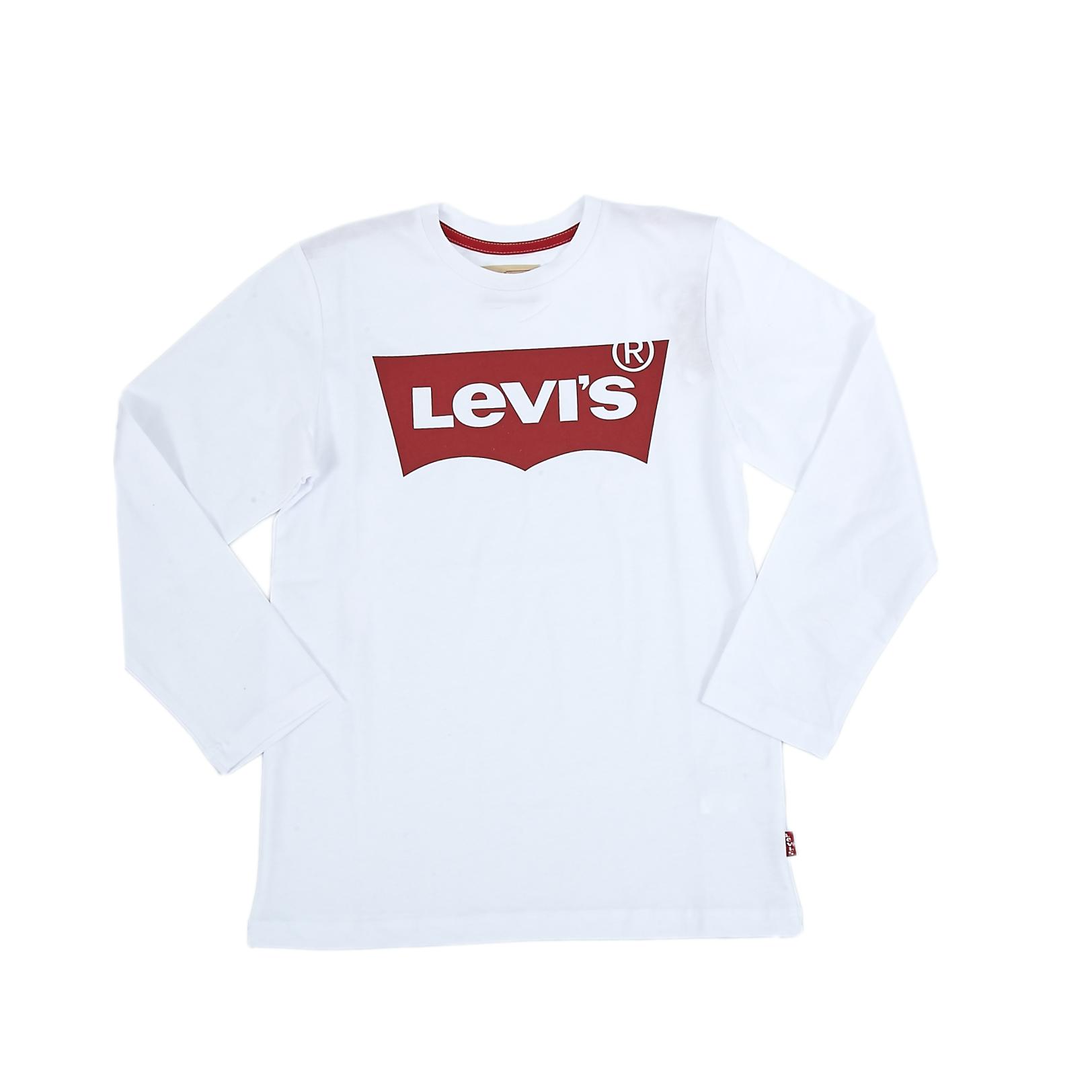 LEVI'S KIDS - Παιδική μπλούζα Levi's Kids λευκή
