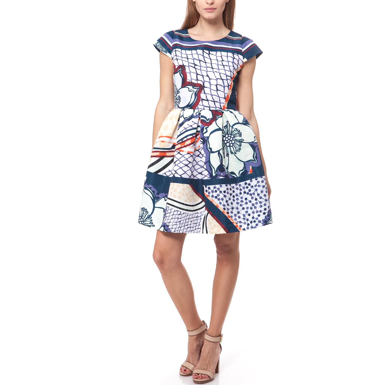 TED BAKER - Γυναικείο φόρεμα Ted Baker μπλε γυναικεία ρούχα φορέματα μίνι