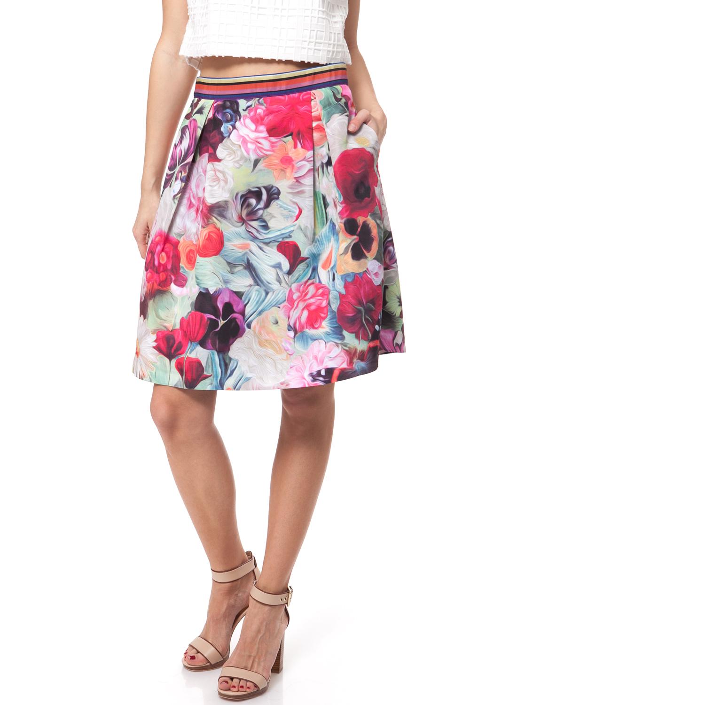 TED BAKER - Γυναικεία φούστα Ted Baker φούξια γυναικεία ρούχα φούστες μέχρι το γόνατο