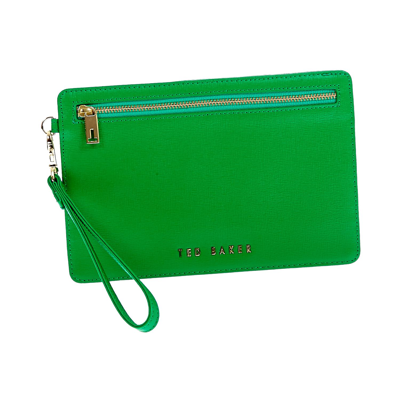 TED BAKER - Τσαντάκι-πορτοφόλι Ted Baker πράσινο γυναικεία αξεσουάρ πορτοφόλια μπρελόκ