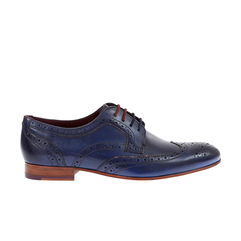 TED BAKER - Ανδρικά παπούτσια GRYENE Ted Baker μπλε