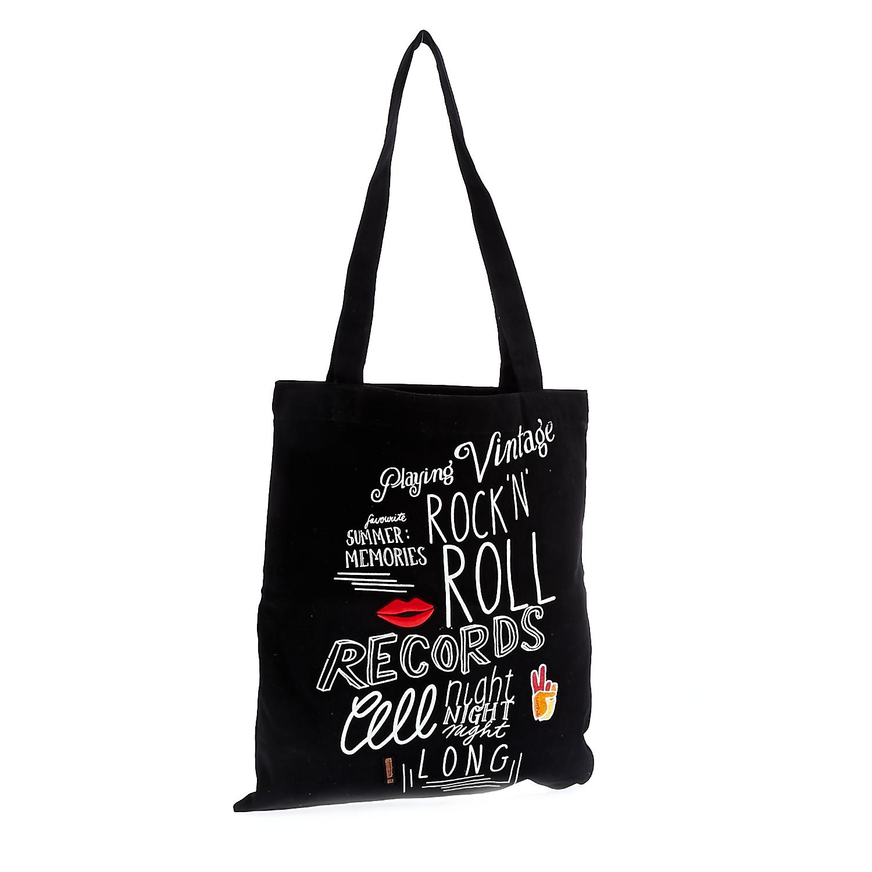 MAISON SCOTCH - Τσάντα Maison Scotch μαύρη γυναικεία αξεσουάρ τσάντες σακίδια ωμου
