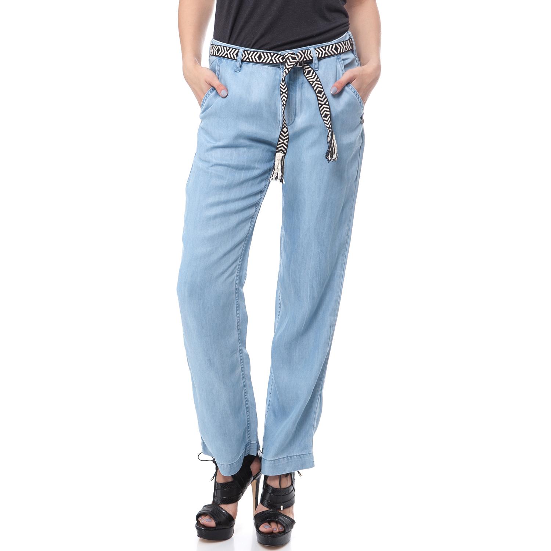 MAISON SCOTCH - Παντελόνι Maison Scotch γαλάζιο γυναικεία ρούχα παντελόνια