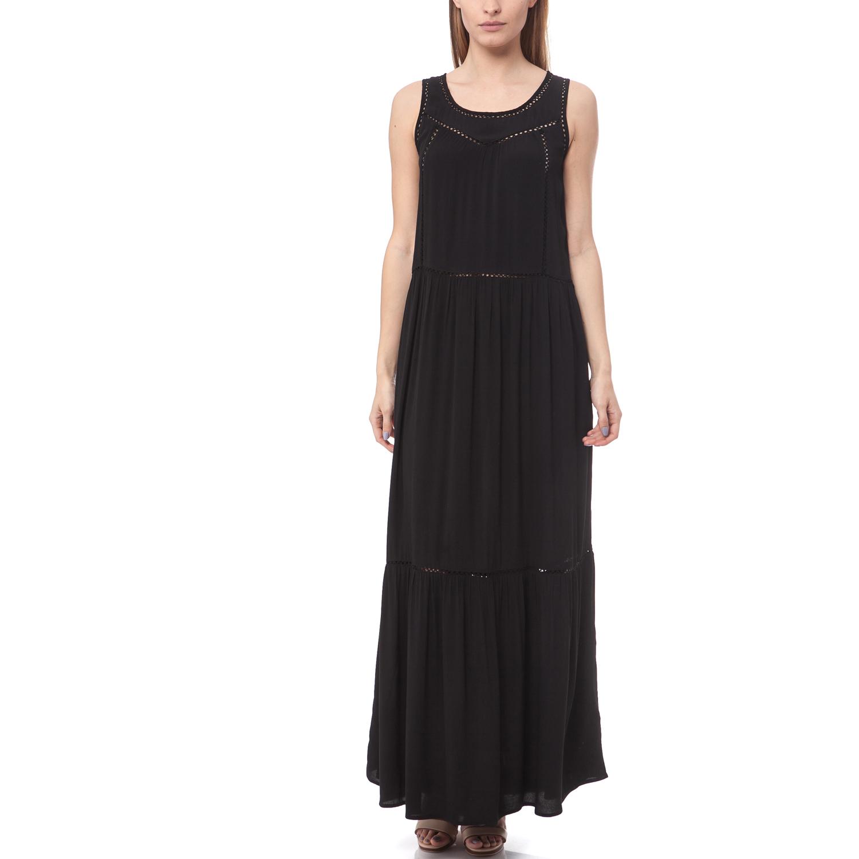 MAISON SCOTCH - Maxi φόρεμα Maison Scotch μαύρο γυναικεία ρούχα φορέματα μάξι