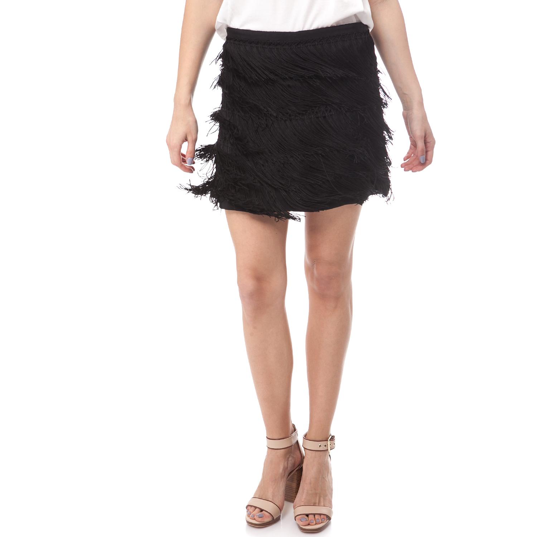 MAISON SCOTCH - Φούστα Maison Scotch με κρόσια γυναικεία ρούχα φούστες μίνι