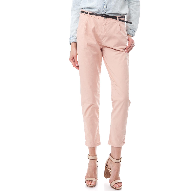 MAISON SCOTCH - Γυναικείο παντελόνι Maison Scotch ροζ γυναικεία ρούχα παντελόνια