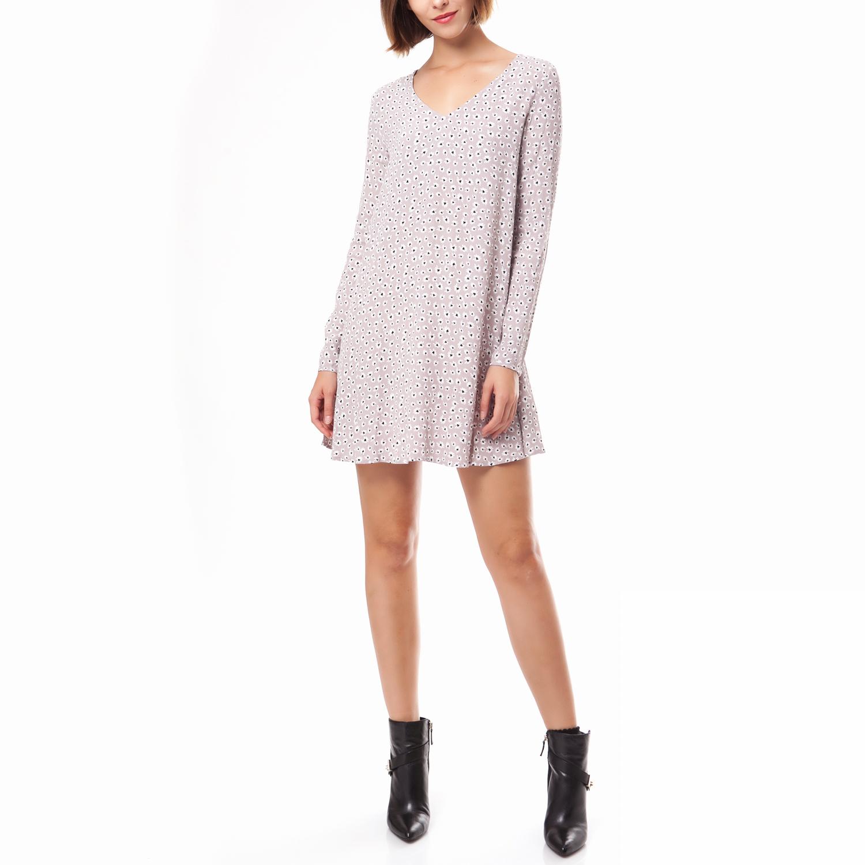 AMERICAN VINTAGE - Γυναικείο φόρεμα American Vintage μπεζ γυναικεία ρούχα φορέματα μίνι