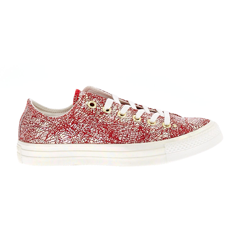 CONVERSE - Γυναικεία παπούτσια QS CTAS CLASSIC κόκκινα-λευκά
