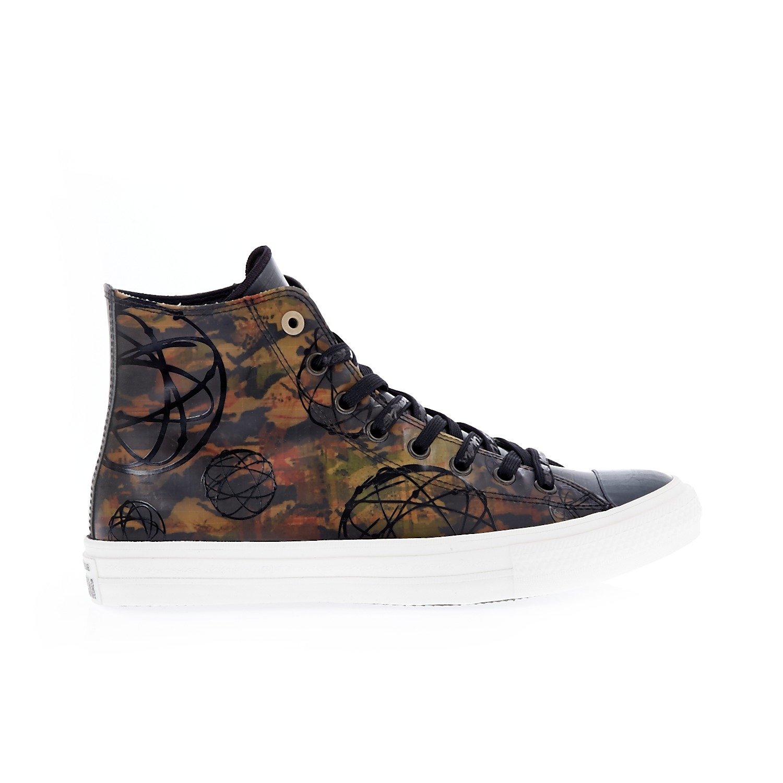 CONVERSE – Unisex παπούτσια QS CTAS II HI καφέ-μαύρα