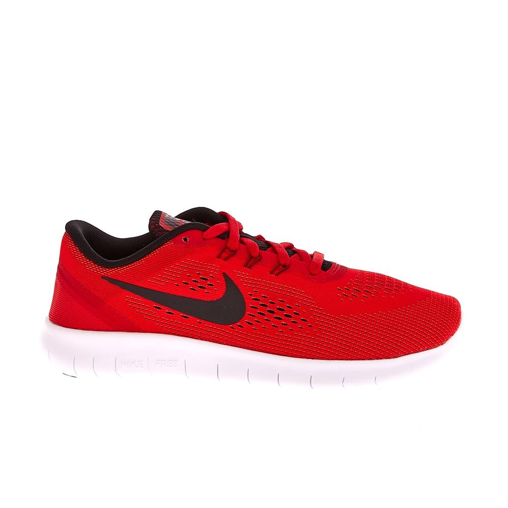NIKE – Παιδικά αθλητικά παπούτσια NIKE FREE RN (GS) κόκκινα