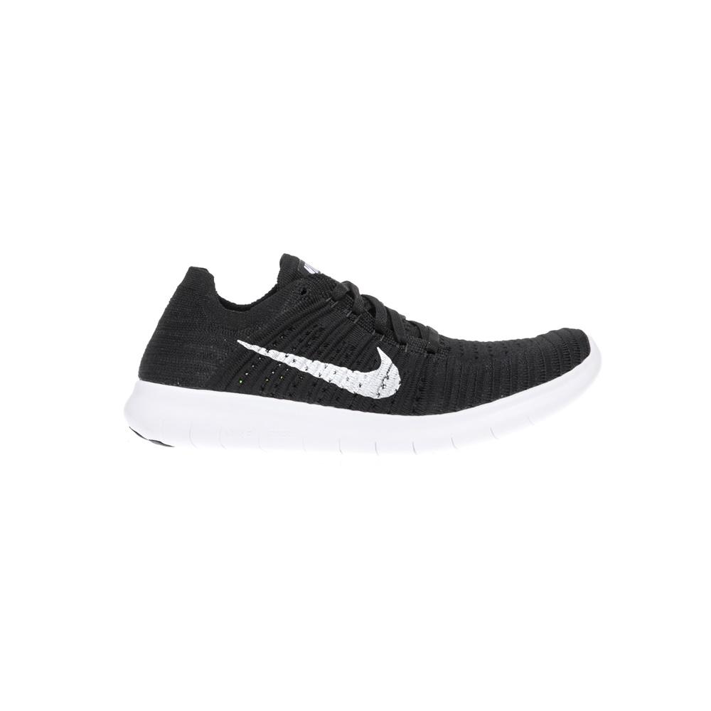 NIKE – Γυναικεία παπούτσια NIKE FREE RUN FLYKNIT μαύρα