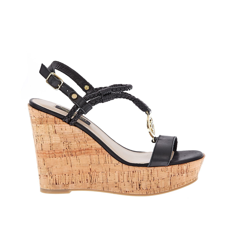 JUICY COUTURE - Γυναικείες πλατφόρμες Juicy Couture μαύρες γυναικεία παπούτσια πλατφόρμες