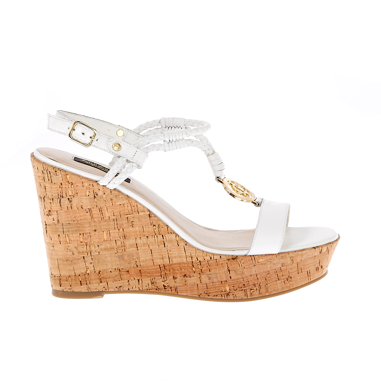 JUICY COUTURE - Γυναικείες πλατφόρμες Juicy Couture λευκές γυναικεία παπούτσια πλατφόρμες