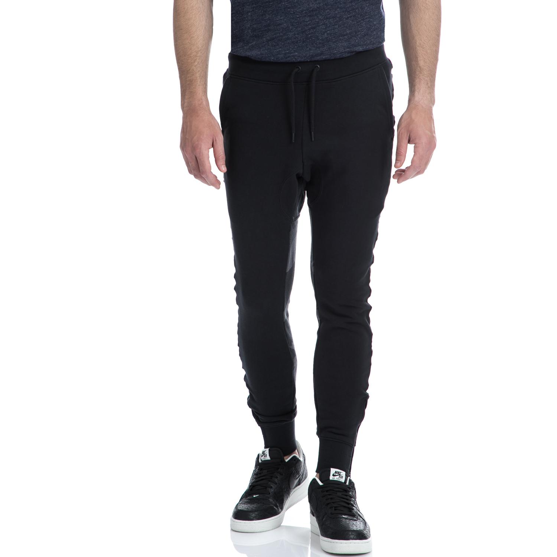 NIKE - Αντρικό παντελόνι NIKE μαύρη ανδρικά ρούχα αθλητικά φόρμες
