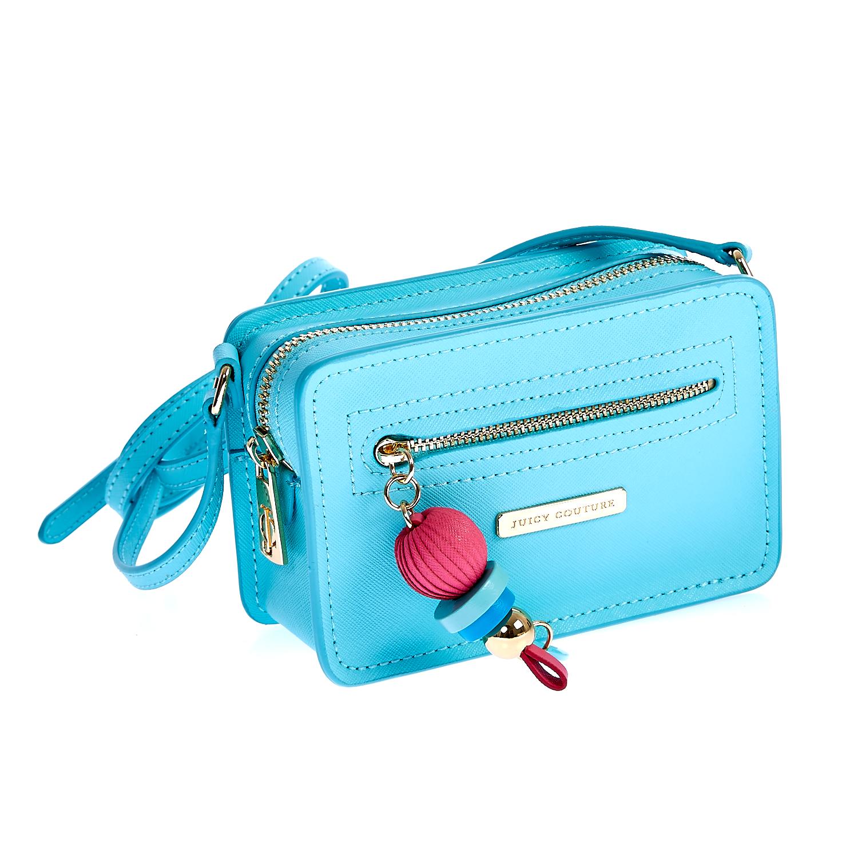 JUICY COUTURE – Γυναικεία τσάντα Juicy Couture μπλε 1461030.0-00T2