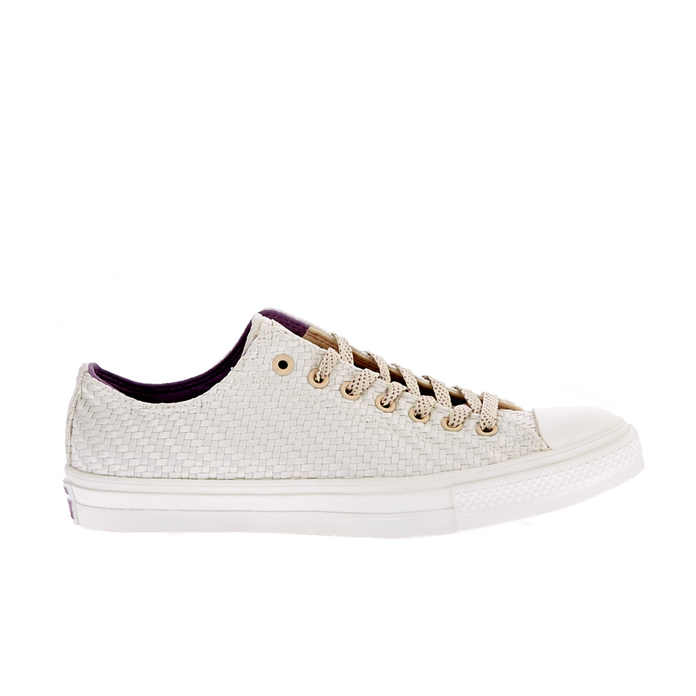 CONVERSE – Unisex παπούτσια QS CT II OX μπεζ