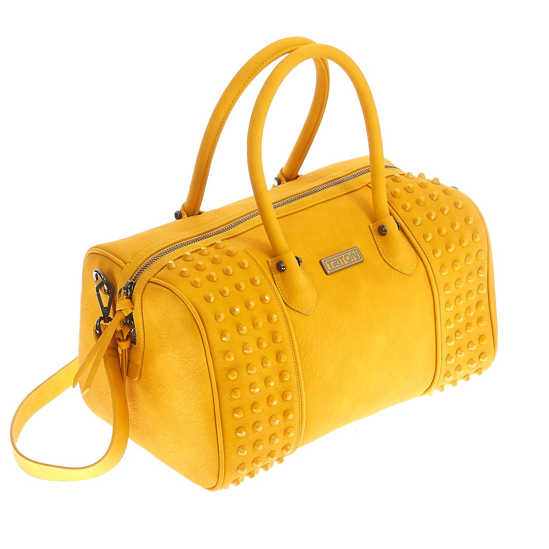 TRITON – Γυναικεία τσάντα Triton κίτρινη 1461996.0-0000