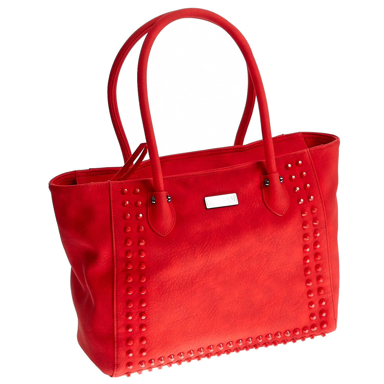 TRITON – Γυναικεία τσάντα Triton κόκκινη
