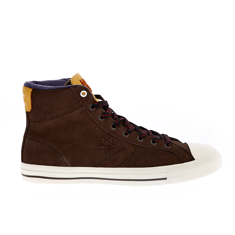 CONVERSE – Unisex παπούτσια Star Player Hi καφέ