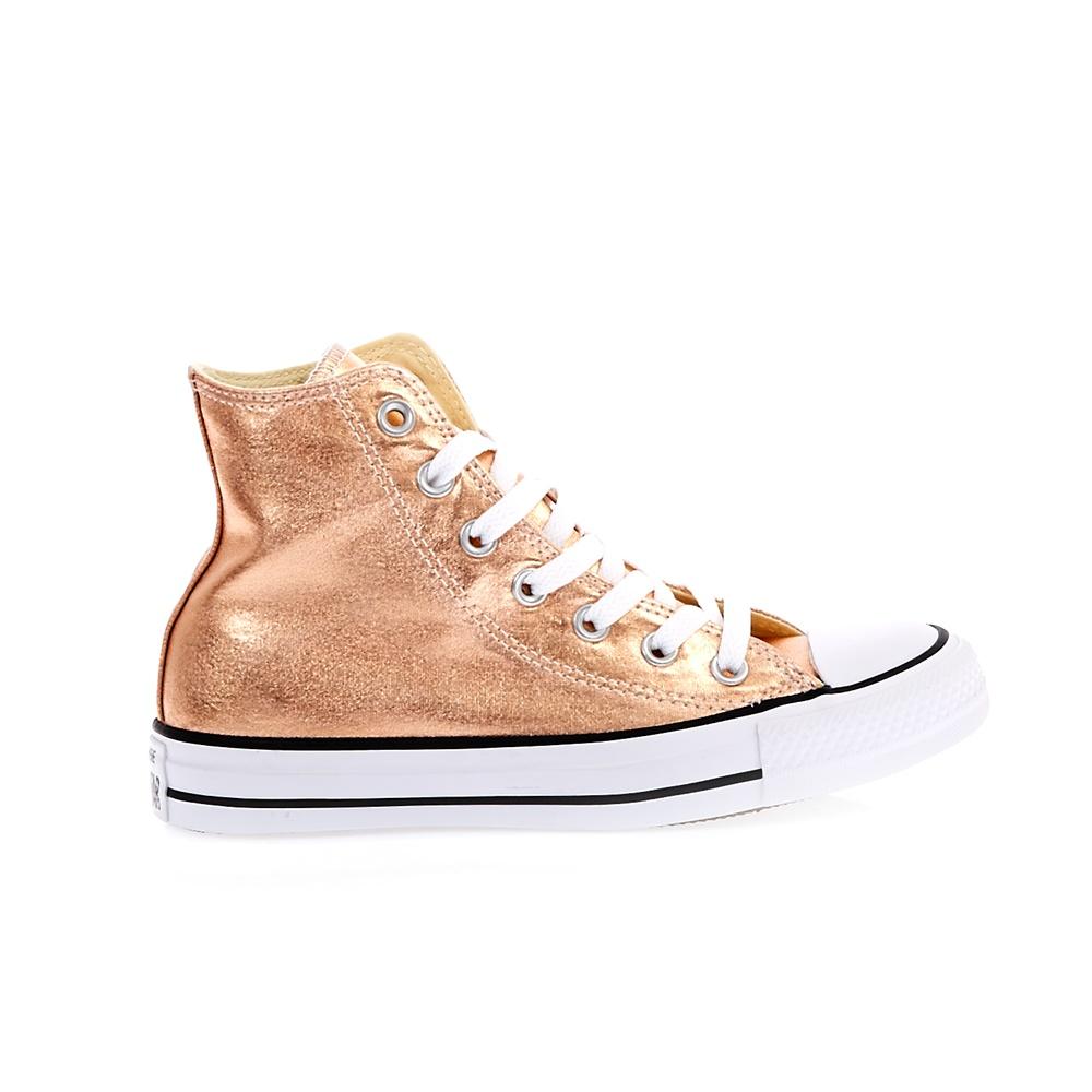 CONVERSE – Unisex παπούτσια Chuck Taylor All Star Hi ροζ-σομών a73e5005b9c