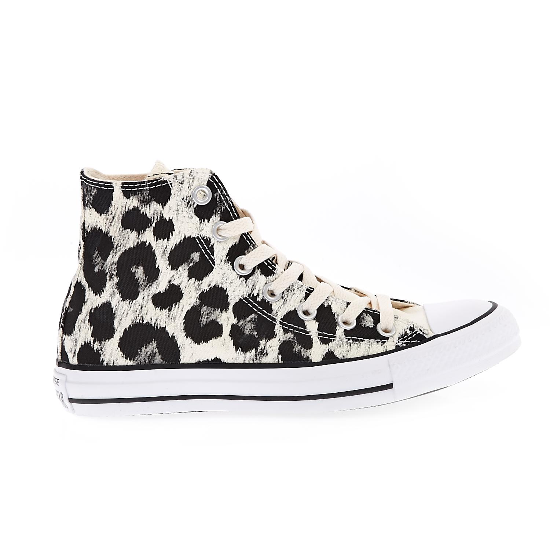 CONVERSE – Γυναικεία παπούτσια Chuck Taylor All Star Animal P μαύρα-μπεζ