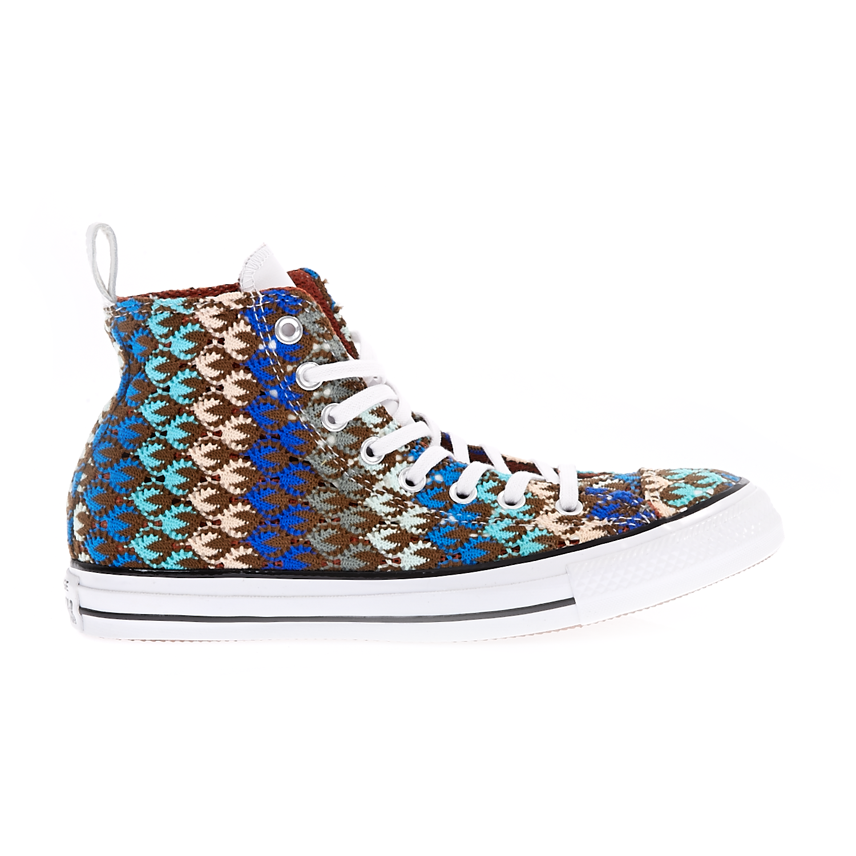 CONVERSE - Γυναικεία παπούτσια Chuck Taylor All Star Hi καφέ γυναικεία παπούτσια sneakers