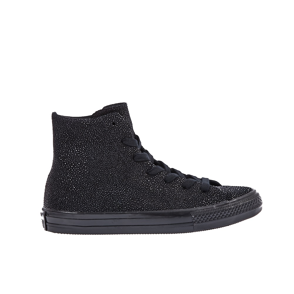 CONVERSE - Γυναικεία παπούτσια Chuck Taylor All Star Gemma Hi μαύρα