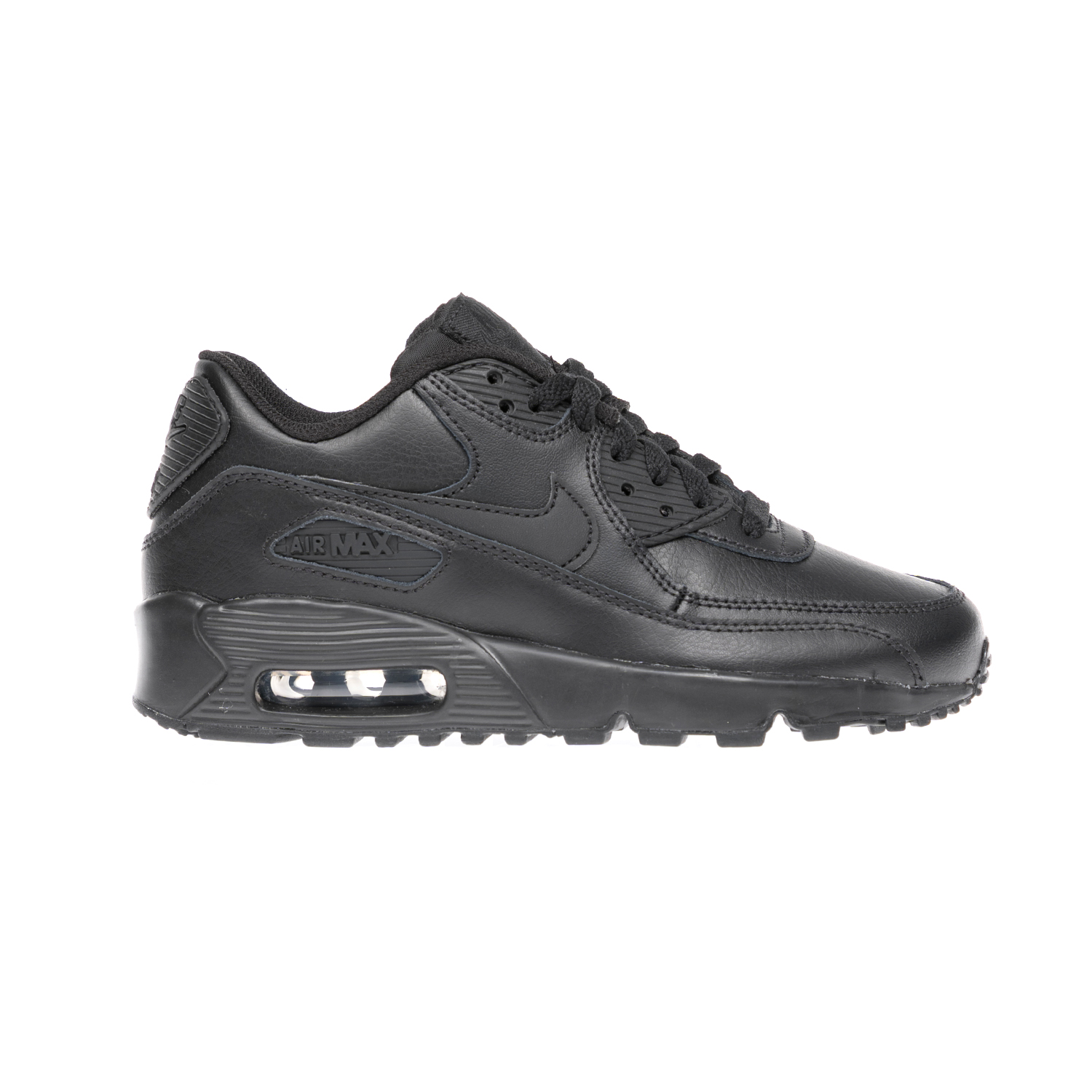 NIKE – Παιδικά παπούτσια NIKE AIR MAX 90 LTR (GS) μαύρα
