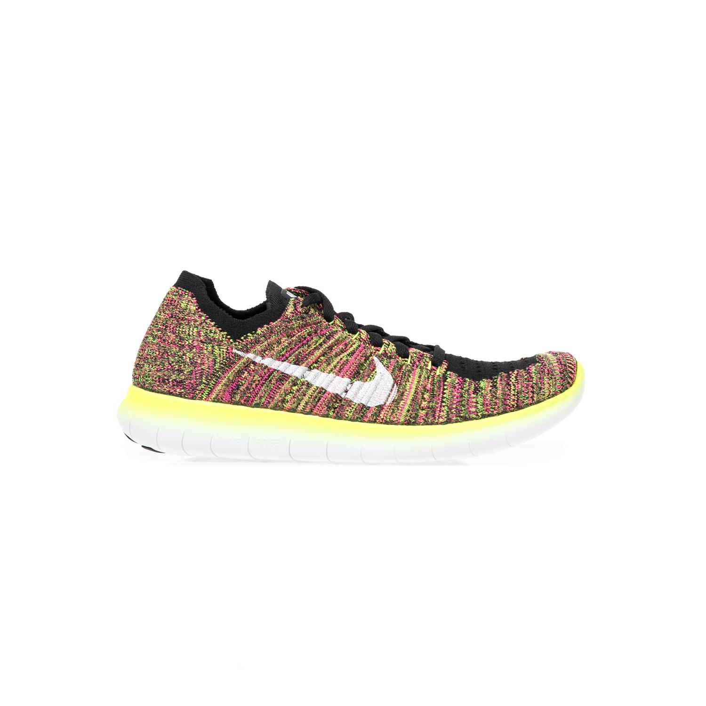 NIKE – Γυναικεία παπούτσια NIKE FREE RUN FLYKNIT πολύχρωμα
