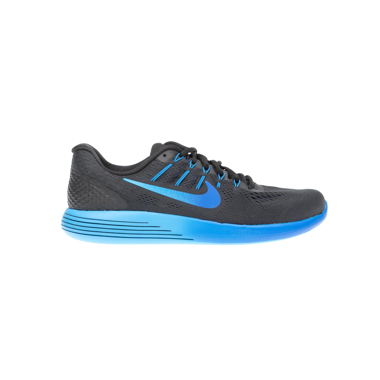 NIKE – Αντρικά αθλητικά παπούτσια NIKE LUNARGLIDE 8 μαύρα