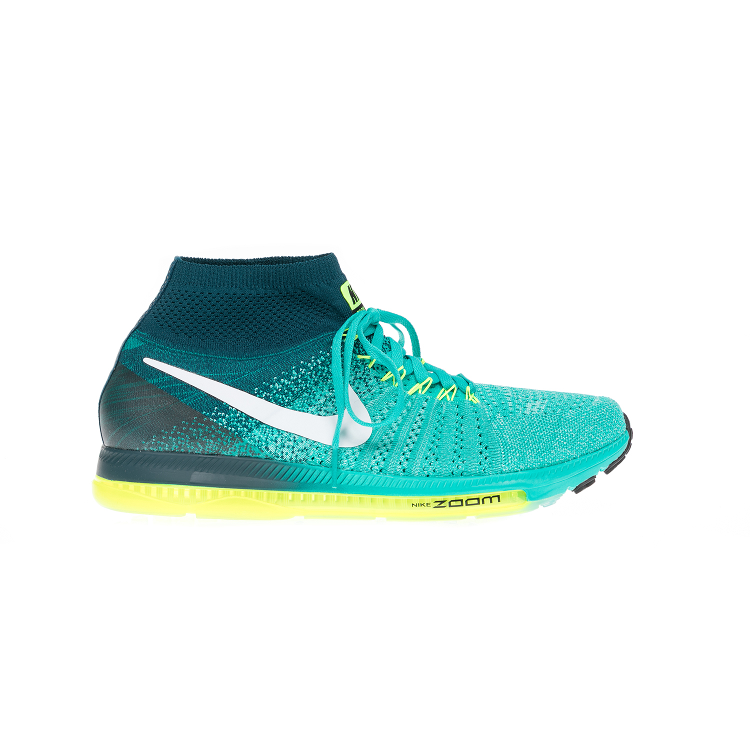 NIKE – Αντρικά παπούτσια NIKE ZOOM ALL OUT FLYKNIT πράσινα