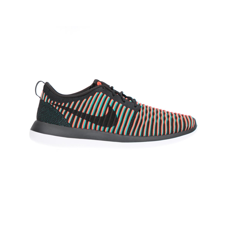 NIKE - Αντρικά αθλητικά παπούτσια NIKE ROSHE TWO FLYKNIT πολύχρωμα αθλητικά running