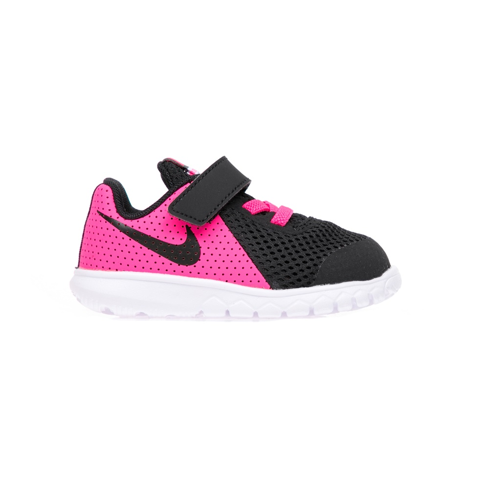 NIKE – Βρεφικά αθλητικά παπούτσια NIKE FLEX EXPERIENCE 5 μαύρα