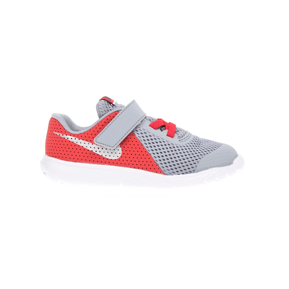 NIKE – Βρεφικά παπούτσια NIKE FLEX EXPERIENCE 5 (TDV) γκρι-κόκκινα